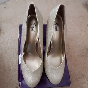 Sparkly heels